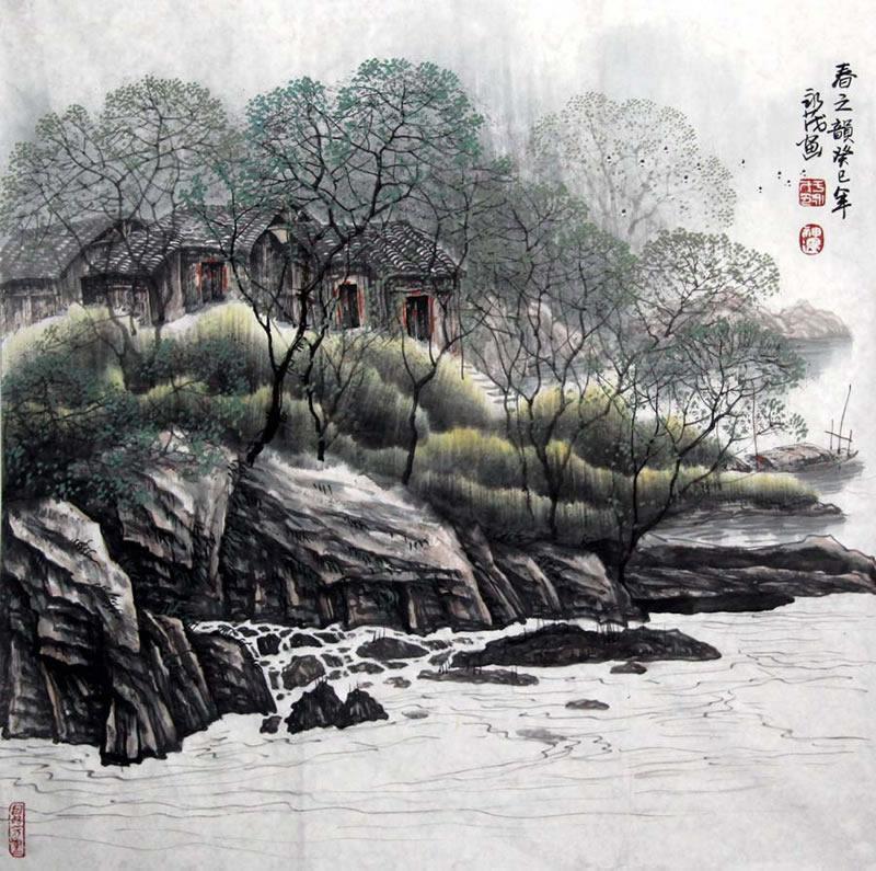 国画作品 >         于永茂yym 写意山水