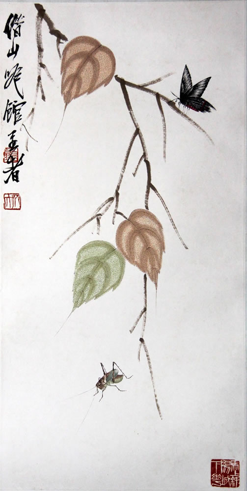齐白石书画作品字画收藏欣赏qbs图片