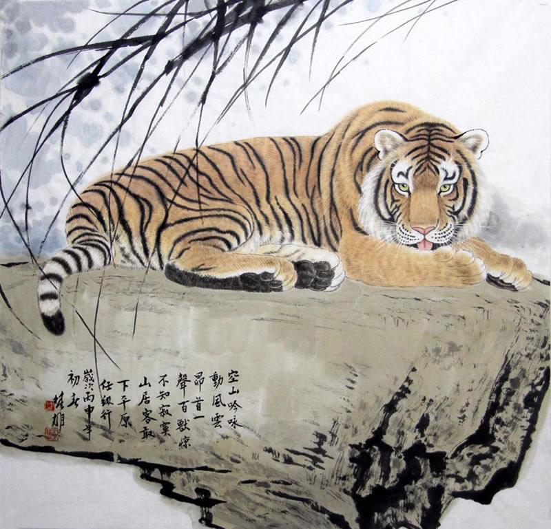 方楚雄fcx 动物字画作品